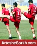 آخرین تمرین در امارات برگزار شد
