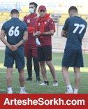 برنامه تمرینات سرخپوشان تا قبل از نخستین بازی لیگ