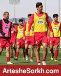 تمرین تیم بدون حضور مصلح و بودیمیر برگزار شد