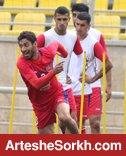 گزارش تمرین: مهاجم بازی کردن سیدجلال و مصدومیت عالیشاه