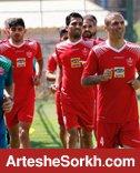 گزارش تمرین: سیدجلال با تیم تمرین کرد