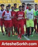 تمرین شنبه در ورزشگاه شهید کاظمی برگزار شد