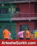 محل تمرین تیم در گوا؛ قلعه پرتغالی
