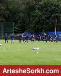 حال و هوای تمرین تیم ملی ۴ روز قبل جام جهانی