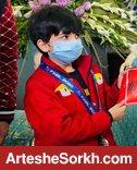 یحیی به یاسوج رفت و مدال خود را هدیه داد + عکس