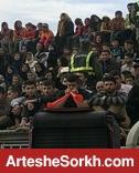 فوتبال به نفع زلزله/ستاره های فوتبال در سرپل ذهاب درخشیدند